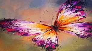 Yağlı Boya Workshop! Kelebek