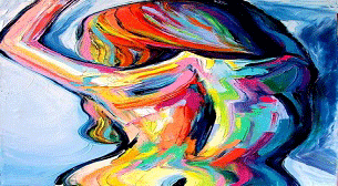 Yağlı Boya Workshop! Renkli Kadın