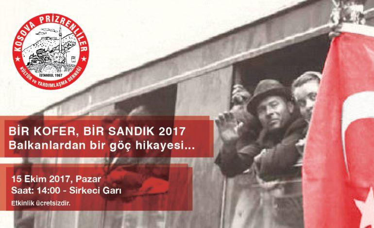 Balkan Göçmenleri 22 Ekim'de Buluşuyor