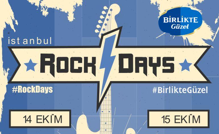 Rock Days - İstanbul - Pazar