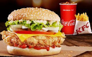 KFC'den Fenomen Olacak Burger!