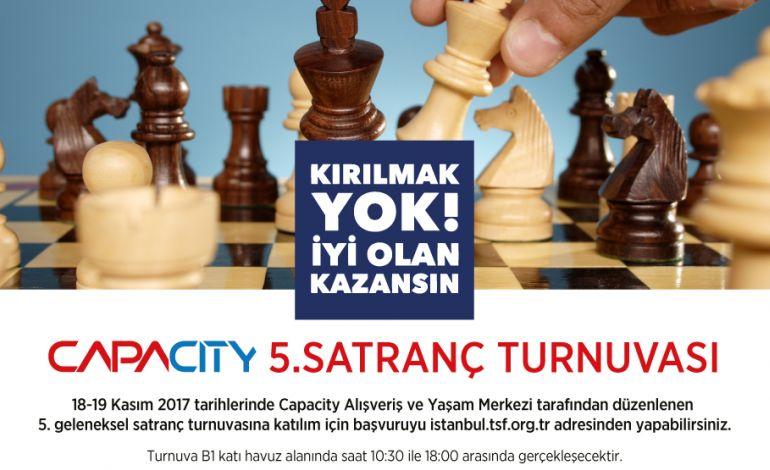 Capacity Geleneksel '5. Satranç Turnuvası' Başlıyor.