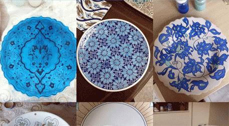 çini Boyama Atölyesi Atölye Kurs Istanbulnettr Kültür Sanat