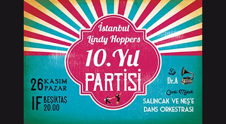 İstanbul Lindy Hoppers 10. Yıl Part
