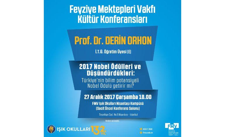 Derin Orhon, 2017 Nobel Ödülleri ve Türkiye Bilim Potansiyelini Anlatacak
