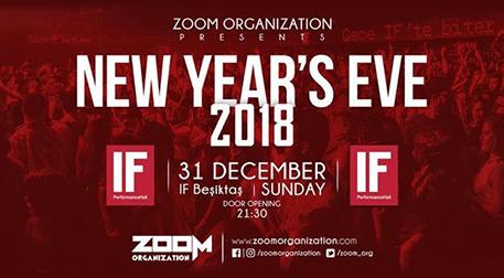 IF Beşiktaş 2018 Yeni Yıl Partisi