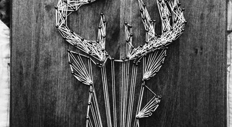 Masterpiece String Art - Geyik