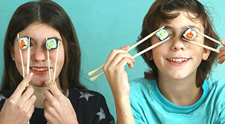 Genç Şefler: Sushi (10 - 15 Yaş)