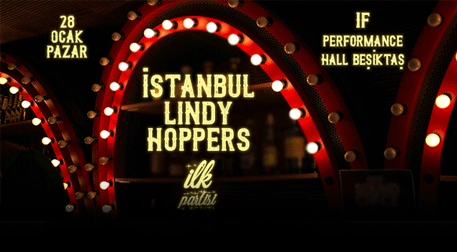 İstanbul Lindy Hoppers İlk Partisi