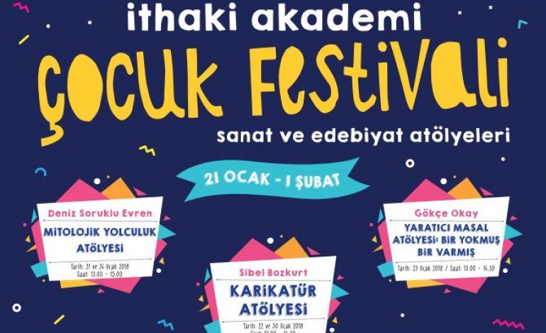 İthaki Akademi'de Çocuk Festivali Başlıyor!