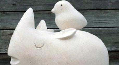 Masterpiece Galata Heykel - Kuş ve