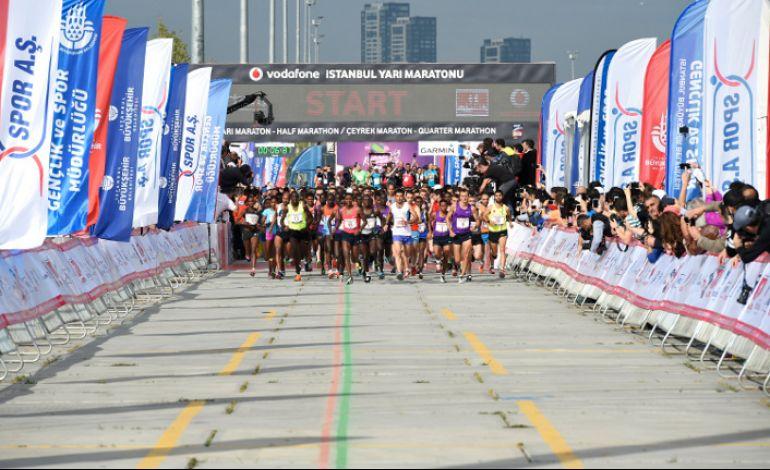 Vodafone İstanbul Yarı Maratonu'na Kayıtlar Devam Ediyor