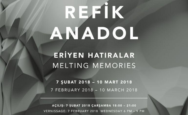 Refik Anadol - Eriyen Hatıralar