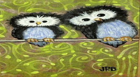 Yağlı Boya Workshop Baykuş