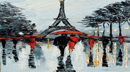 Yağlı Boya WORKSHOP! Paris