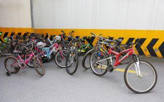 Bisikletler Çoçuklar İçin Birikiyor