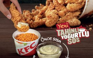 KFC Tahinli Yoğurtlu Sos'la Parmak Isırtacak
