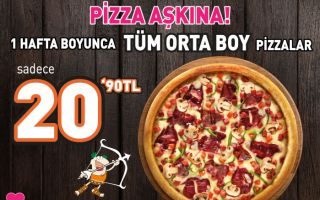 Little Caesars'tan Pizza Aşkına!