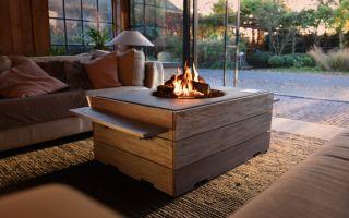 Aşıklara Evde Kamp Ateşi Sıcaklığı
