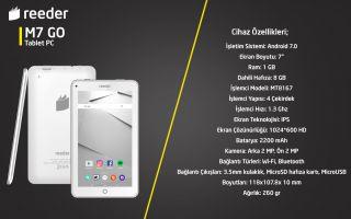 Uygun Fiyatlı Tablet: Reeder M7 Go
