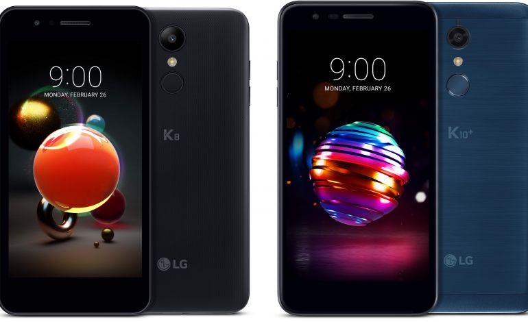Yeni Nesil K10 ve K8 Akıllı Telefonları MWC'de Tanıtacak