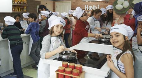 Çocuk Şefler Mutfakta (8-12 Yaş)