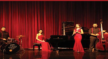 Flüt ve Caz Piyano Üçlüsü