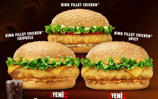 Burger King®'den İki Farklı Lezzet