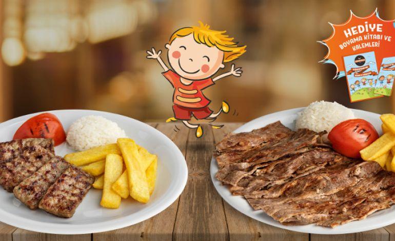 Günaydından çocuklara özel Lezzeti Ve Eğlencesi Bol Menü Yeme