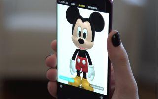 Sevilen Disney Karakterleri Samsung Galaxy S9 ve S9+'larda Hayat Buluyor