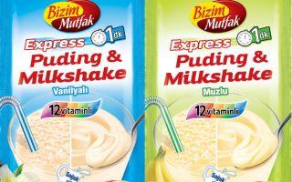 Tek Pakette İster Puding, İster Milkshake!