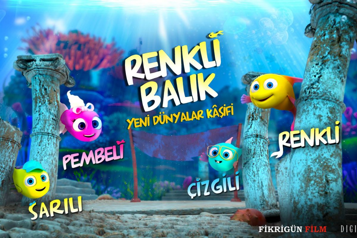 Renkli Balık Yeni Dünyalar Kâşifi