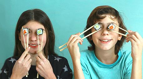 Genç Şefler: Sushi (10-15 yaş)