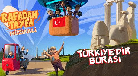"""Rafadan Tayfa """"Türkiye'dir Burası"""""""