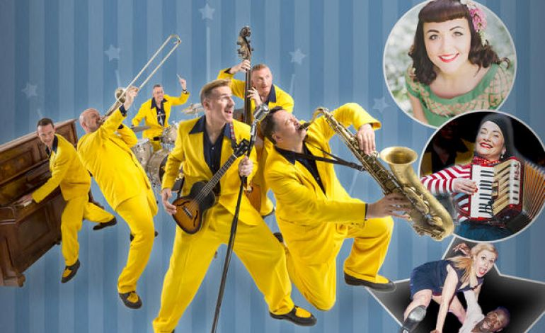The Jive Aces With Amy Baker Featur