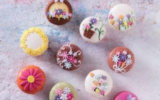 Divan Pastaneleri'nden Bahar Desenlerinde Macaronlar