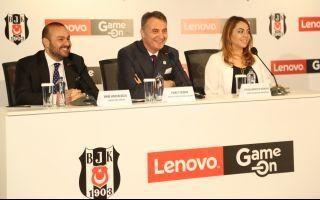 Beşiktaş JK ve Lenovo'dan Dünyada Bir İlk: