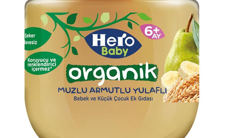 Hero Baby Organik Serisini Yeni Meyvelerle Zenginleştiriyor