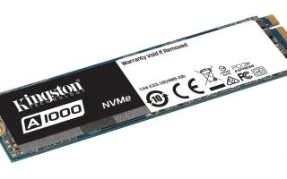 Kingston A1000 SSD Modelini Duyurdu