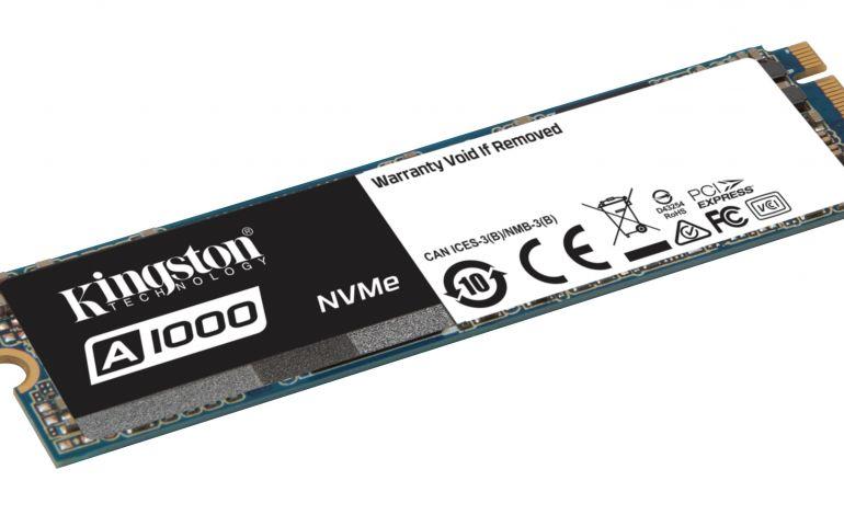 Kingston A1000 SSD Modelini Duyurdu
