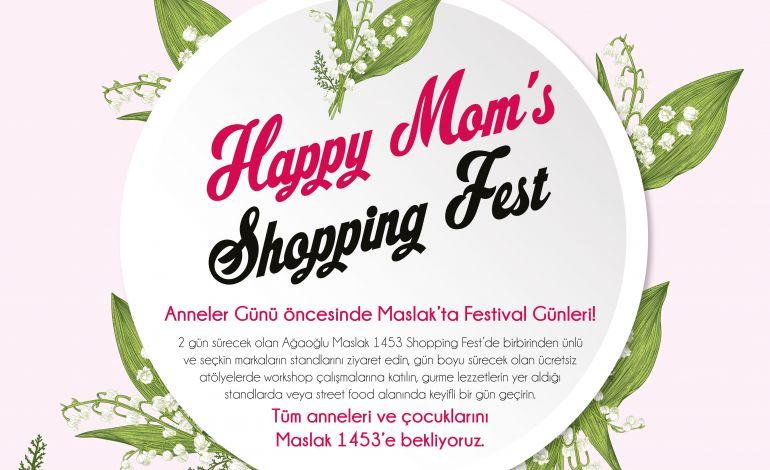 Happy Mom's Shopping Fest