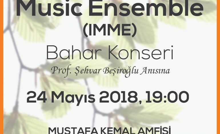İstanbul Modern Music Ensemble (IMME)
