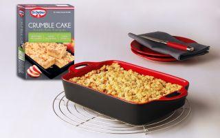 Bir Yenilik Daha; Crumble Cake!