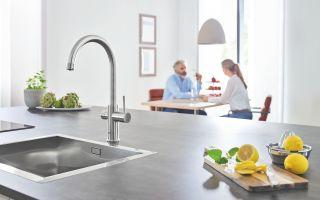"Şebeke Suyunu Filtrelenmiş İçme Suyuna Çeviren ""Grohe Blue Home"