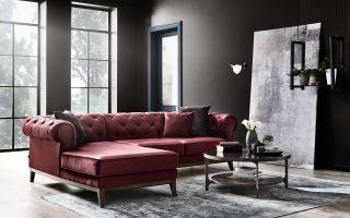 Şık ve Klasik Tasarımı Victoria Chester Köşe