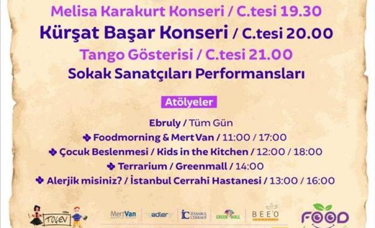 Foodmornıng'in Düzenlediği Lavanta Festivali Zorlu Center'da Toçev Yararına Yapılıyor.