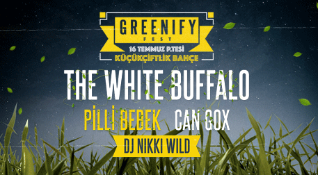Greenify2018 - The White Buffalo