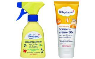 Babydream'le 0-3 Yaş Bebeklere Özel Üst Düzey Güneş Koruması...
