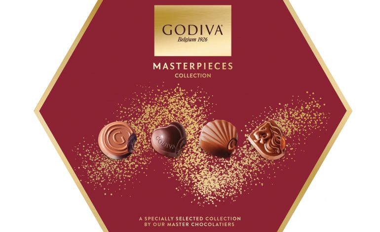 Godiva'dan Yeni 'Masterpieces Collection' İkramlık Çikolata