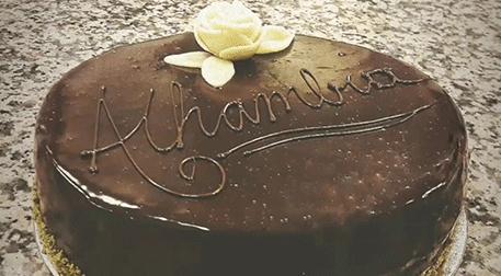 """""""Alhambra"""" Pastası Yapımı Demo Ders"""